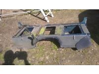 LAND ROVER DEFENDER SEAT BOX - STRAIGHT AND ROT FREE