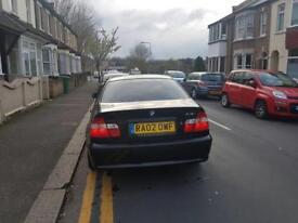 BMW 3 Series Barging