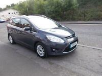 FORD GRAND C-MAX 2.0TDCI MANUAL DIESEL 7 SEATER (138bhp) TITANIUM 11 REG