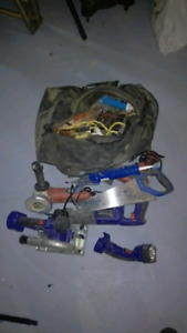 Bag of tools & hardware