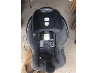 BRITAX SAFETY CAR SEAT - baby to infant adjustable - Secure fixing