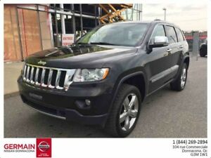 2012 Jeep GRAND CHEROKEE OVERLAND-CUIR-TOIT PANORAMIQUE