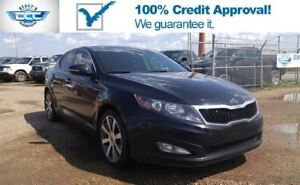 2012 Kia Optima EX 2.4L Leather &  Sunroof!! Navi & Bluetooth!!