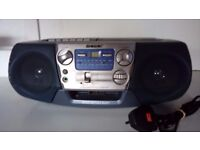 Retro Sony CFD-V7 Portable Boom-box AM/FM Radio/CD Player/Cassette