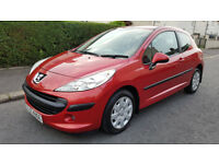 ONLY 54000 MILES,SEPTEMBER 2008 PEUGEOT 207,1397 CC,foucus,fiesta,micra,mini,astra,corsa,golf,polo,
