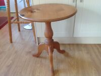 Solid Pine Table.