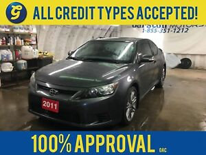 2011 Scion tC*PANORAMIC MOON-ROOF*REMOTE START*HEATED SEATS*