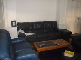 Single bedroom in large 4 bedroom flat in Leith Walk close to Edinburgh City Centre with 2 toilets
