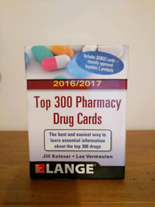 Top 300 Pharmacy Drug Cards- great for PEBC prep!