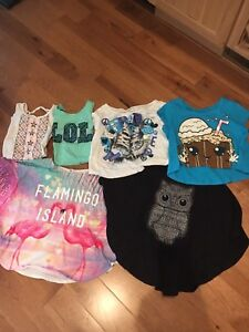 Girls clothes size 8 to 10