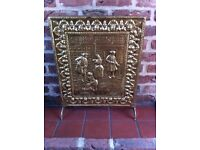 Fire screen fire place cover