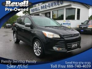 2014 Ford Escape SE 4WD *1-owner Leather  Nav  Chrome pkg