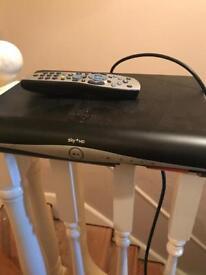 Sky HD Boxe and remote