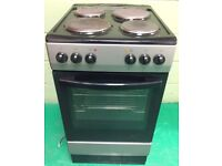 Currys essentials electric cooker Black 50cm wide