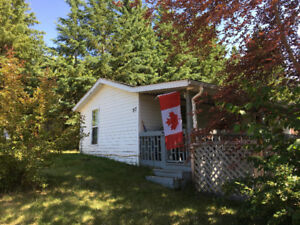 All Season Cabin for Sale at Sandy Beach