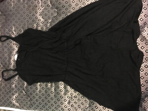Black Dress romper from garage
