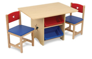 Kid Kraft Star Table and Chair Set