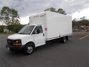 2015 GMC Cube Van 3500