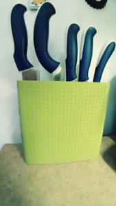 Bodum Knife Block with Knives