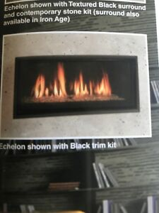 "Majestic Echelon 2 -42""linear direct vent gas fireplace"