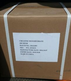 Creatine Monohydrate 25kg Box