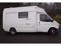 Ford Transit 190 TD LWB Ex-St John Ambulance campervan conversion