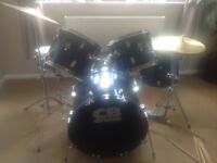Five piece drum kit