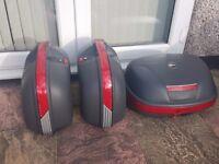 Givi Monokey Motorcycle Luggage set - Panniers and Topbox