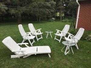 Classic set of lawn furniture