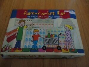 Supermarket Fun board game Excellent condition