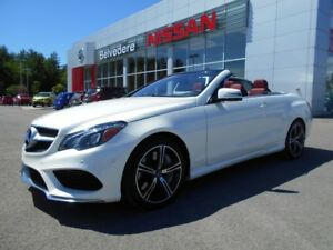 2014 Mercedes-Benz E-Class E 550 CONVERTIBLE PREMIUM PACKAGE GPS