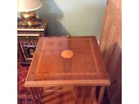 Reproduction Edwardian revolving wooden bookcase