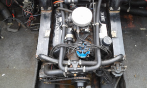 Ford 302 Marine Motor and outdrive complete