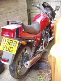 HONDA VT500EF 500cc, 1985..... FOR RESTORATION.