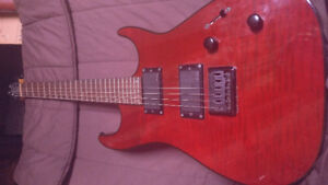 Godin redline 2 with (EMG 82 and EMG 85 active pickups) + Amp