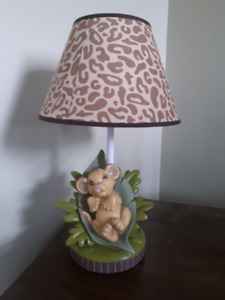 lion king table lamp