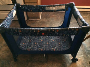 Playpen, Mesh Sides,Folds,Compact,Great anywhere, home, etc