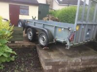 Ifor Williams GD105 Twin Axle Trailer