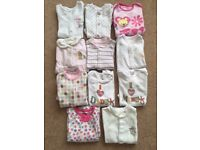 Baby Girl Clothes Bundle (0-3mth)