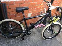 Tomac Omen custom built bike