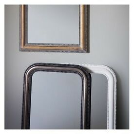 1 x Hyde Mirror Rustic White W560 x H840mm by Gallery Direct