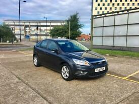 2010 FORD FOCUS 1.6 ZETEC STYLE CLIMATE - Petrol, Manual, 5 Door, Grey, Only 80k Miles, Cheap Tax