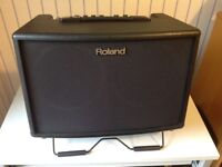 Roland AC60 Acoustic Chorus Guitar Amplifier and Padded Case