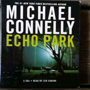 Audio Book cds Echo Park Michael Connelly - used once