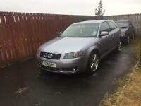 "2004 AUDI A3 1.9 TDI SPORT 105BHP MOTD TO NOVEMBER 17"" ALLOY WHEELS GREAT DRIVER!"