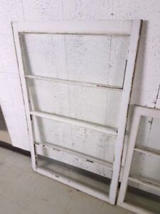 5 Vintage Window Frames