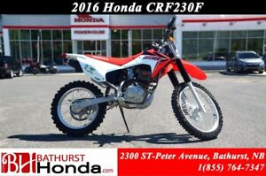 2016 Honda CRF230 Lightweight strength!!!