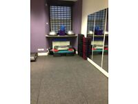 Personal Training or fitness studio available to rent at weekends