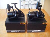 2 fox fx9 reels swap for shimano ultegra 5500 xtd or shimano medium baitrunner xta reels