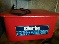 Clarke Small parts cleaner electric
